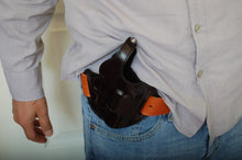 Load image into Gallery viewer, Handcrafted Leather Belt Holster for Taurus 38 special 2 inch Barrel