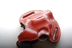 Leather Belt owb Holster For Charter Arms Undercover 38 Special 2 inch