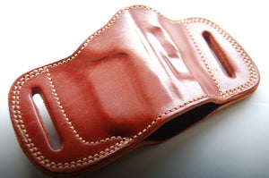 Cal38 | Leather Belt Slide Holster For Heckler & Koch usp compact 40SW