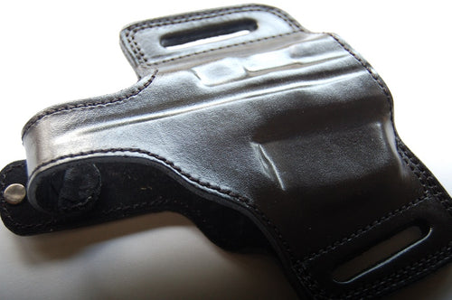 Cal38 | Leather Belt owb Holster For Heckler & Koch usp compact 40SW