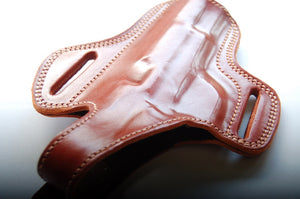 Cal38 Leather Handcrafted Belt owb Holster for Tokarev TT-33