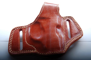 Handcrafted Leather Belt Holster for Beretta 20,21A Bobcat