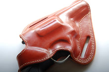 Load image into Gallery viewer, Handcrafted Leather Belt owb belt Holster For Taurus 605 357 Magnum 3 inch Barrel