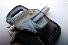 Load image into Gallery viewer, Leather Belt Slide Holster For Smith and Wesson 6906