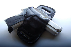 Leather Belt Slide Holster For Smith and Wesson 6906