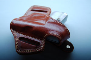 Leather Belt owb Holster For Cz Ceska 6.35