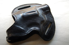 Load image into Gallery viewer, Handcrafted Leather Belt Holster for Colt Cobra 38 Special Revolver 2 inch