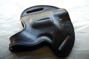 Handcrafted Leather Belt Holster for Taurus 605 2 Inch Barrel