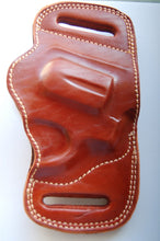Load image into Gallery viewer, Handcrafted Leather Belt Slide Holster for Taurus 856 38 Special