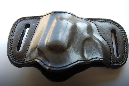 Leather Belt Slide Holster For Ruger SP 101 357 Magnum Snub Nose