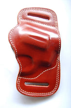 Load image into Gallery viewer, Handcrafted Leather Belt Slide Holster For Charter Arms Pitbull 40,45Acp Revolver