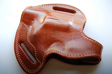 Load image into Gallery viewer, Handcrafted Leather Belt Holster for Taurus 605 Poly