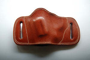 Handcrafted Leather Belt Slide Holster For Charter Arms Pitbull 40,45Acp Revolver