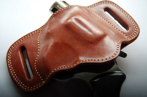 Handcrafted Leather Belt Slide Holster for Taurus 856 38 Special