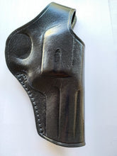 Load image into Gallery viewer, Cal38 | Leather Cross Draw Holster For Smith and Wesson 686 3 inch Barrel