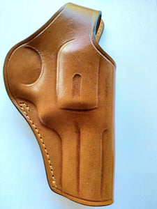 Cal38 | Leather Cross Draw Holster For Smith and Wesson 686 3 inch Barrel