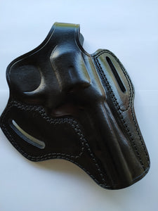 Leather Belt Holster for Smith and Wesson 38 Special ctg 4 Barrel (R.H)