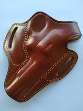 Load image into Gallery viewer, Leather Belt Holster for Smith and Wesson 38 Special ctg 4 Barrel (R.H)