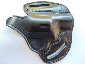 Leather Belt owb Holster For Smith and Wesson Model 36 38 special (R.H)