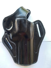 Load image into Gallery viewer, Leather Belt owb Holster For Colt Trooper 357 Magnum 4 inch barrel