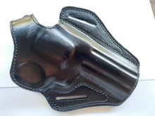 Load image into Gallery viewer, Leather Belt owb Holster For smith & wesson 686 plus 4 inch barrel