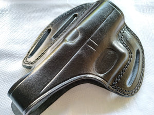 Cal38 | Leather Belt owb Holster for Glock 42