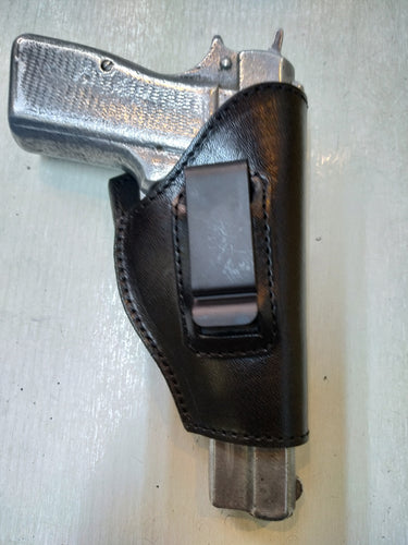 Cal38 | Leather Belt iwb Holster For Colt 1911