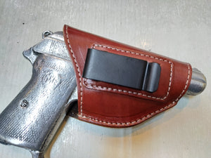 Cal38 | Leather Belt iwb Holster For Beretta Model 70,71