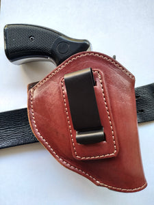Cal38 | Leather Belt iwb Holster Smith and Wesson 38 special