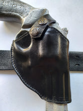 Load image into Gallery viewer, Cal38 | Leather Two Position Belt Holster For Smith and Wesson 686 Snub Nose