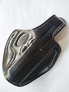 Cal38 | Leather Belt owb Holster  Bersa Thunder 380