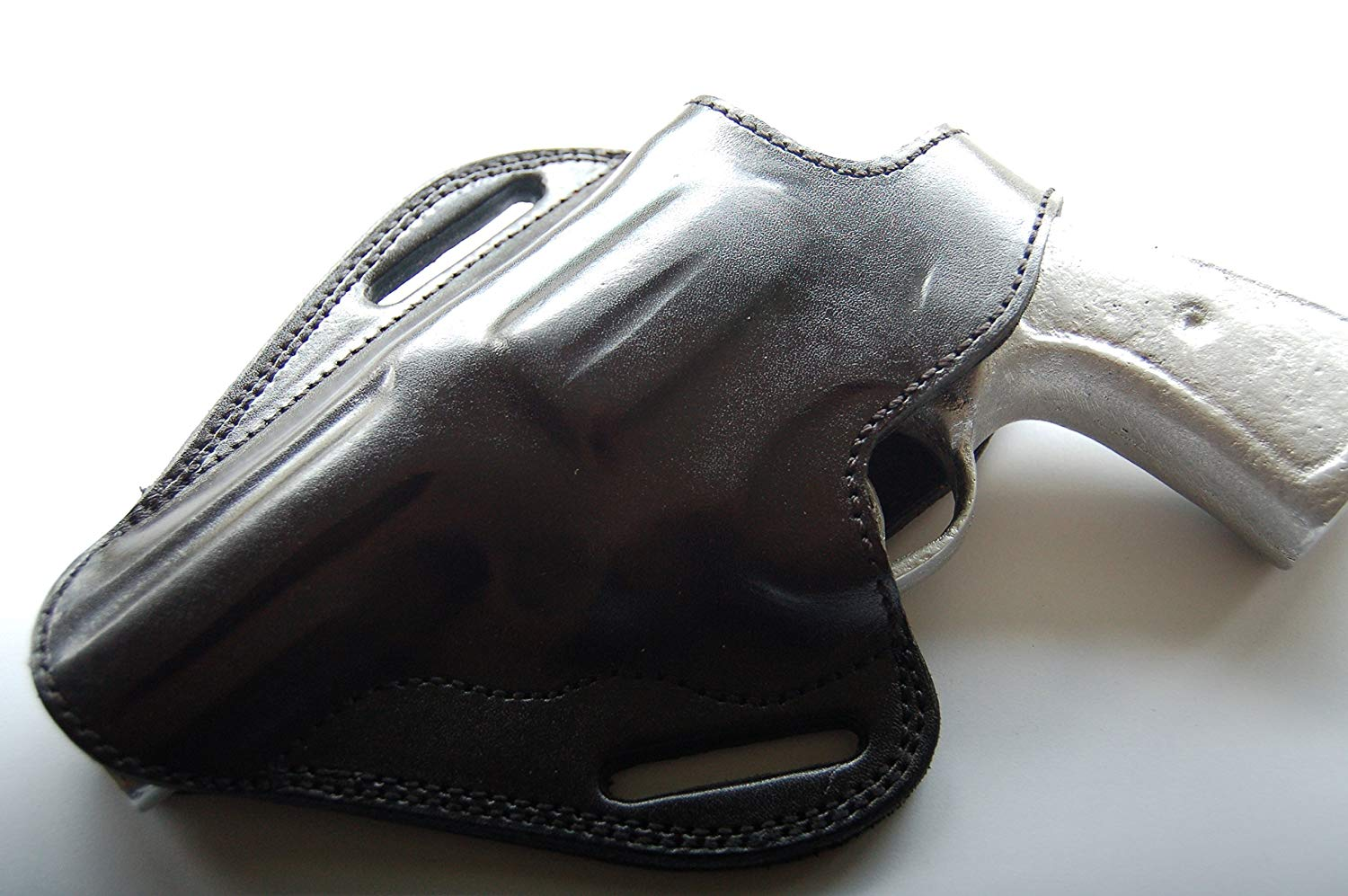 """4/"""" CEBECI Right Hand Leather OWB Belt Holster for TAURUS M44 SIX-SHOT"""