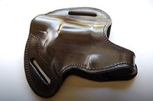 Load image into Gallery viewer, Handcrafted Leather Belt owb Holster For Taurus 605 357 Magnum Snub Nose Revolver