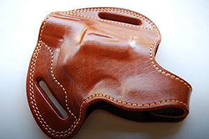 Handcrafted Leather Belt Holster for Colt Cobra 38 Special Revolver 2 inch
