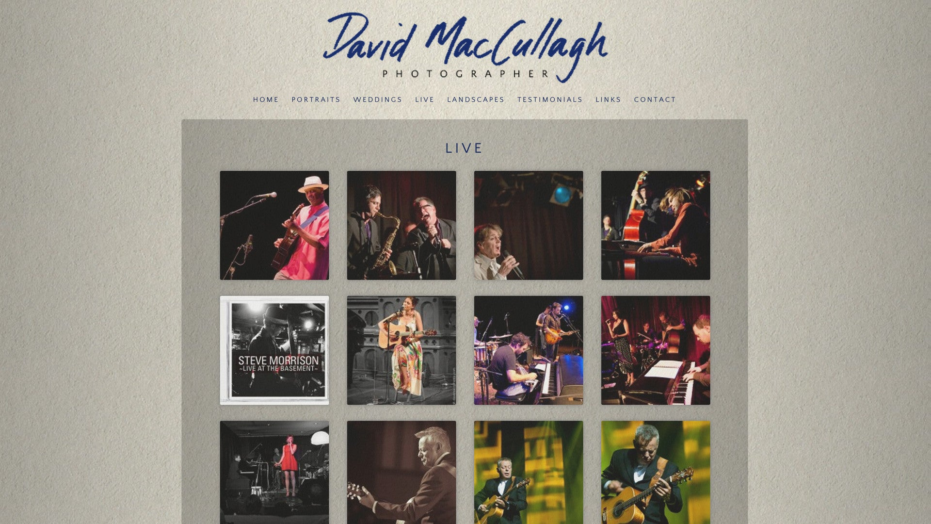 David Maccullagh Photographer
