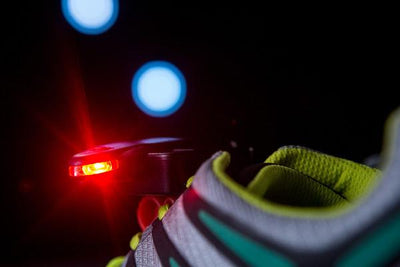 Shoe lights for running at night
