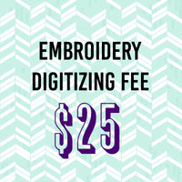 Embroidery Digitizing Fee