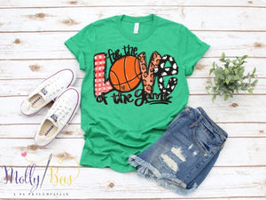 For the love of the game - BASKETBALL