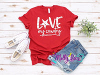 Love my Country print