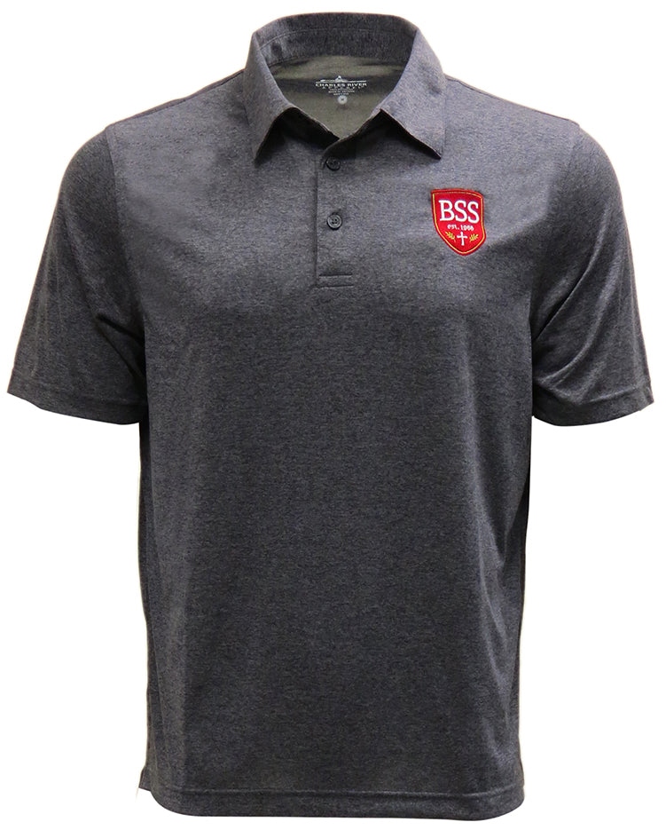 Men's Heathered Polo