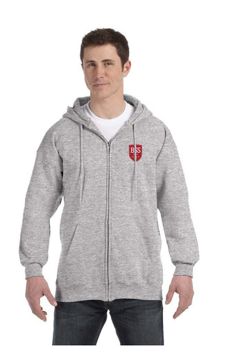 Mens 10 oz Full Zip Hood