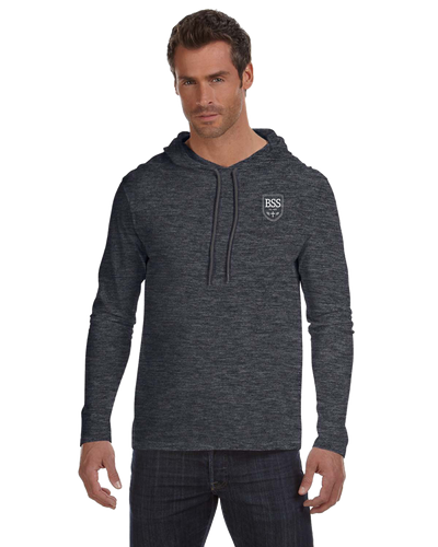 Mens Long Sleeve Hooded T-Shirt