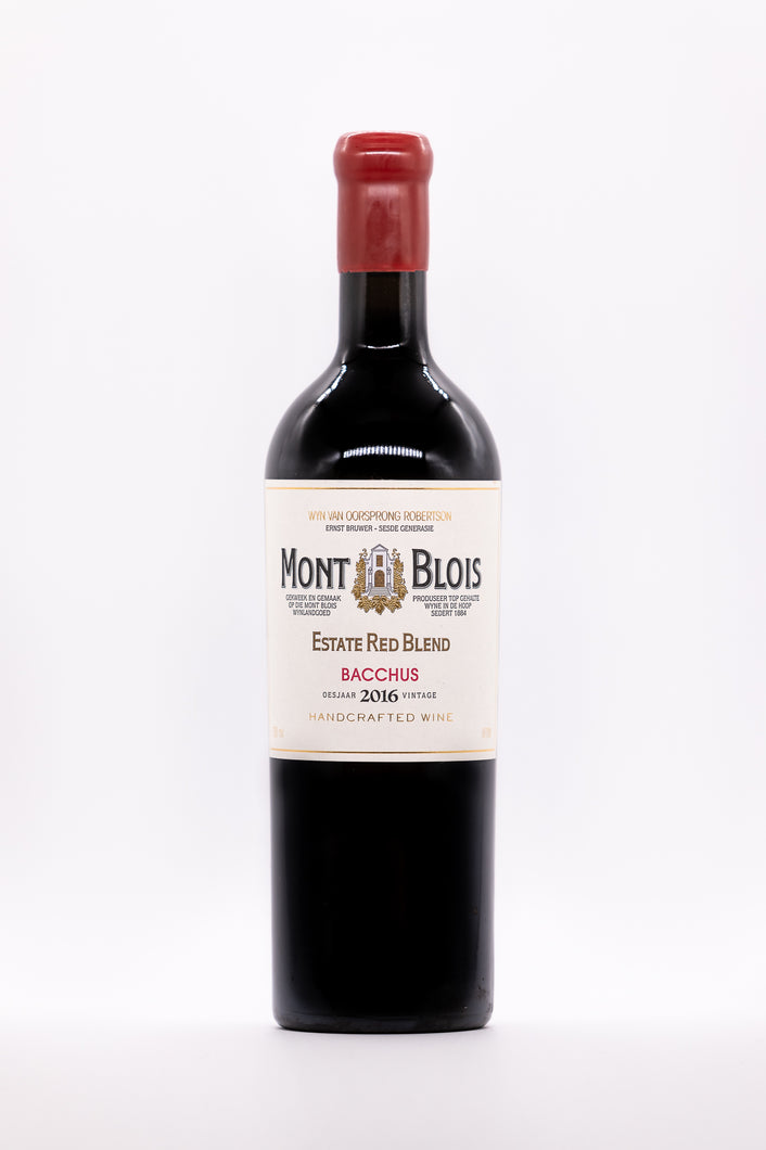 MONT BLOIS Estate Red Blend Bacchus 2018