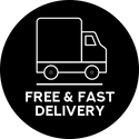 Free & Fast Delivery
