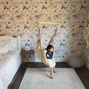 Komorebi-Boho-Macrame-Hanging-Hammock-Chair-Ivory-Kids-Bedrooms