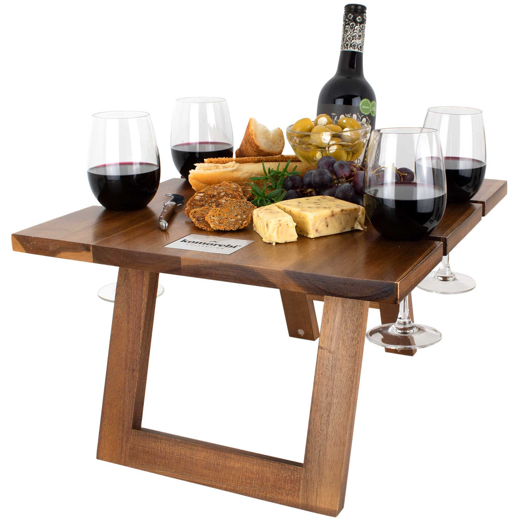 Komorebi-Folding-Picnic-Table-Cheese-Board-Red-Wine
