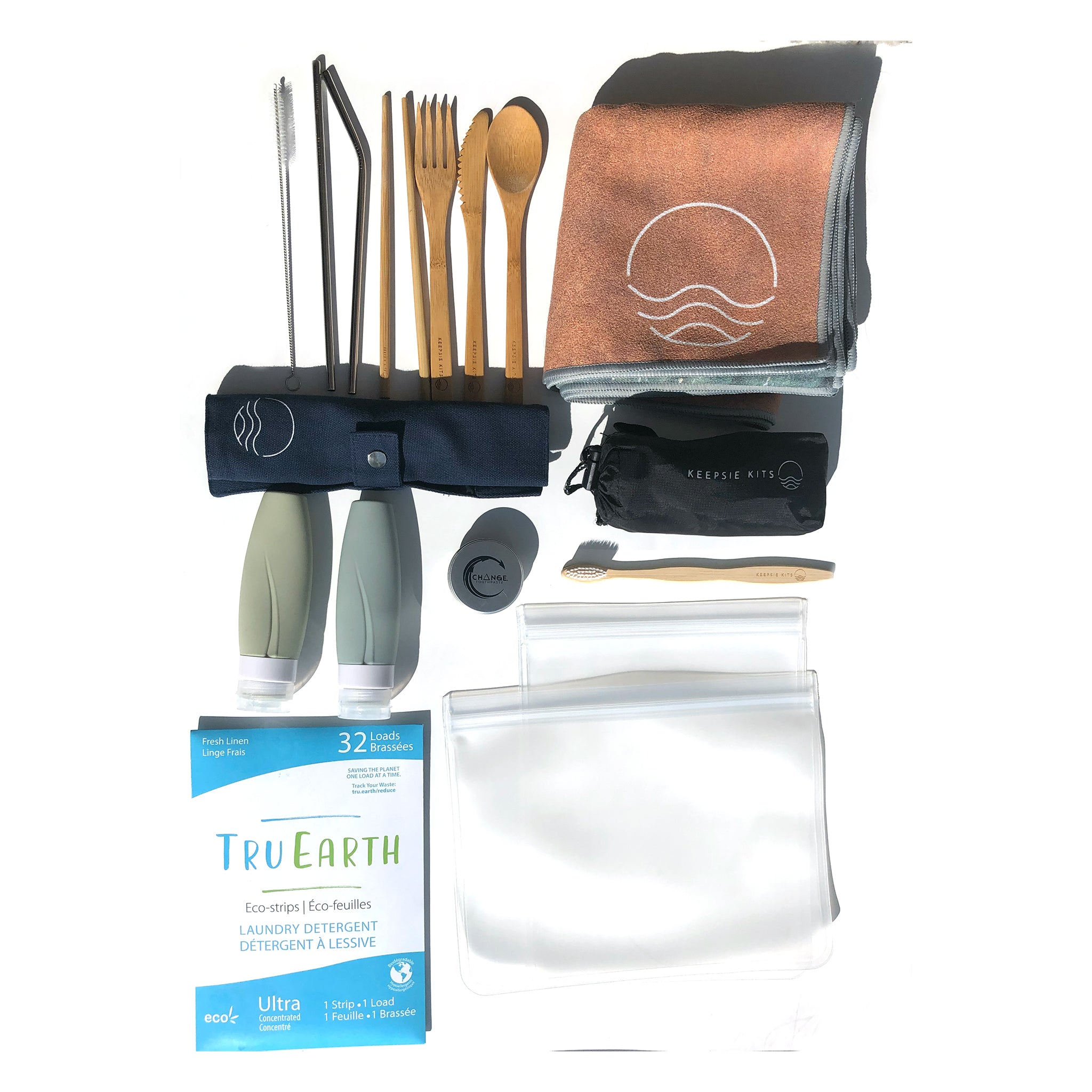 The Works: Ultimate Sustainable Travel Kit