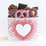 Valentine's Chocolate Filled Gift Box