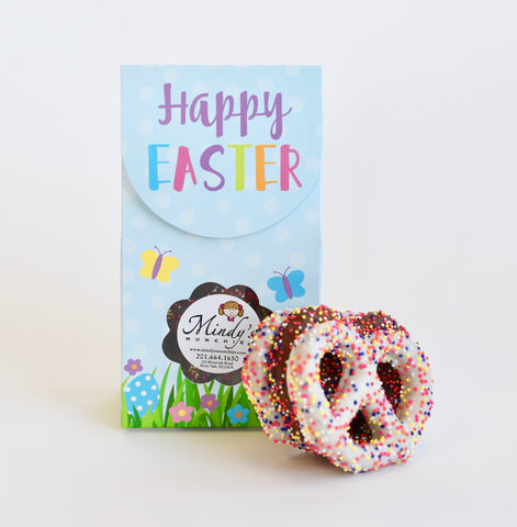 Mini 'Happy Easter' Pretzel Box