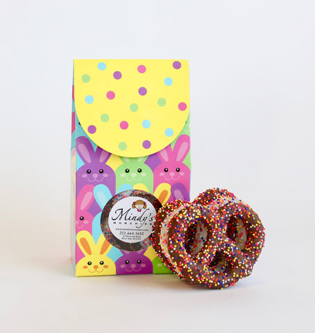 Mini 'Easter Bunny' Pretzel Box